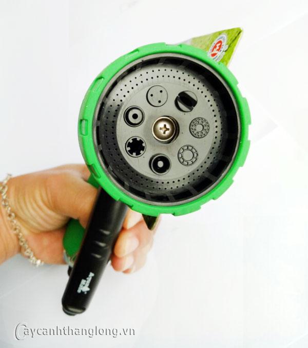 Súng phun tưới nước 7 kiểu W-9902