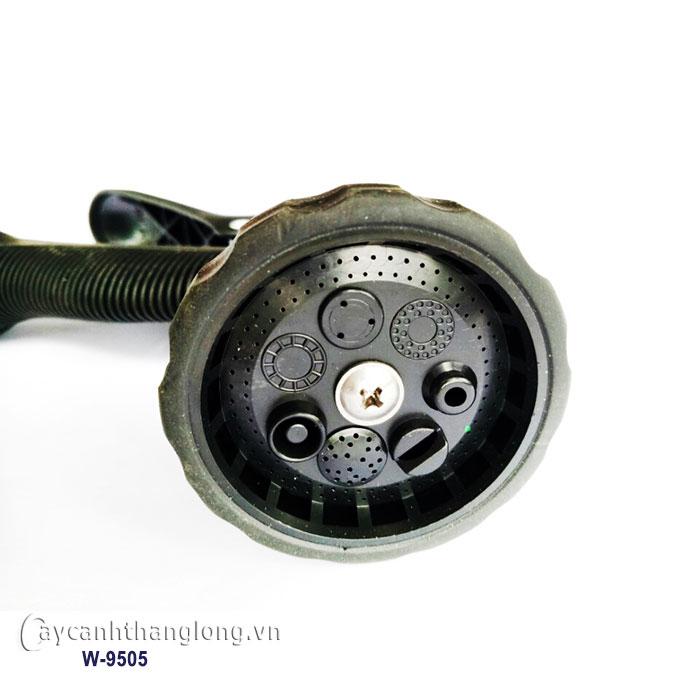 Súng phun tưới nước 8 kiểu W-9505