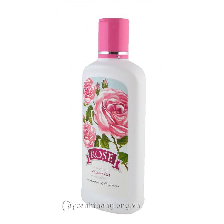 Sữa tắm với tinh dầu hoa hồng tự nhiên Bungaria 240ml