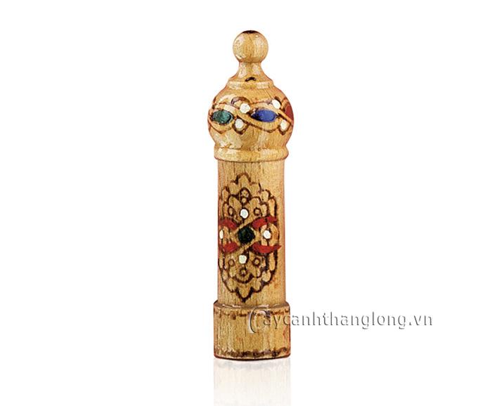 Nước hoa hoa hồng hộp gỗ Bulgaria 2ml