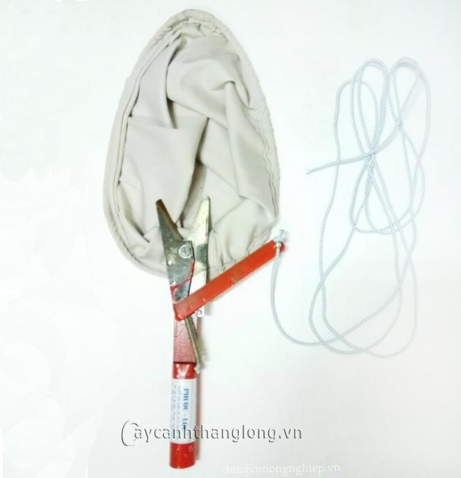 Vợt cắt hái quả trên cao có dây giật