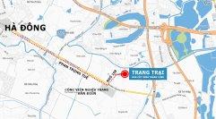 Bản đồ Trang trại hoa cây cảnh thăng Long - Hướng đi từ Hà đông tới