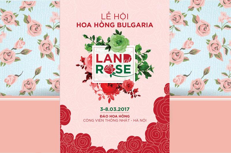 Chào mừng lễ hội hoa hồng Bulgaria lần đầu tiên tổ chức tại Việt Nam vào đầu tháng 3 sắp tới