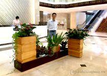 Thiết kế- thi công cảnh quan khu vực sảnh khách sạn quân đội Army hotel - số 1A Nguyễn Tri Phương