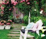Ghế nghỉ trong nhà vườn