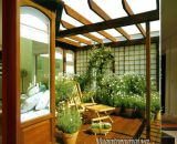 Cách thiết kế khu vườn trên sân thượng