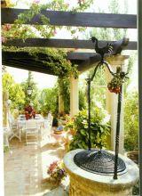 Vườn treo trên mái