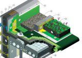 Trồng cây trên sân thượng – tiết kiệm năng lượng
