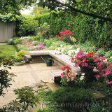 Bố trí ghế nghỉ trong trang trí sân vườn