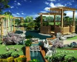 Thiết kế Khu biệt thự nhà vườn và thể thao giải trí (Xanh Villas) nhà Tổng giám đốc Ngân hàng Liên Việt (Phần 3)