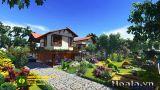 Thiết kế Khu biệt thự nhà vườn và thể thao giải trí (Xanh Villas) nhà Tổng giám đốc Ngân hàng Liên Việt (Phần 4)