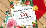 Khuyến mại Giáng sinh, Ring quà năm mới với Cây cảnh Thăng Long