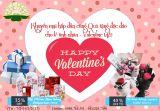 Chương trình khuyến mại hấp dẫn cùng quà tặng độc đáo cho lễ tình nhân Valentine 14-2