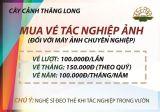 Bảng giá vé tham quan, chụp ảnh tại Trang trại Hoa cây cảnh Thăng Long