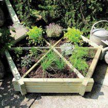 Bồn gỗ trồng hoa cây cảnh 39