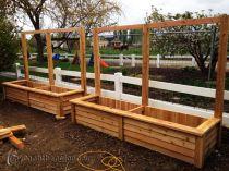 Bồn gỗ trồng hoa cây cảnh 35