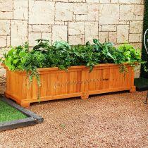 Bồn chậu gỗ trồng cây hoa cảnh 98