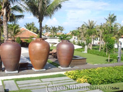 Đồ gốm trang trí sân vườn