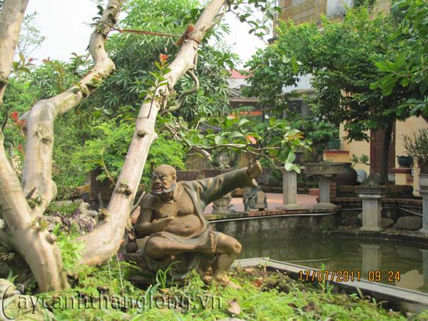 Tượng Trang trí cây cảnh 09